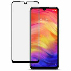 For Xiaomi Redmi Note 7 Tempered Glass Screen Protector  Black / Clear Lot Sw