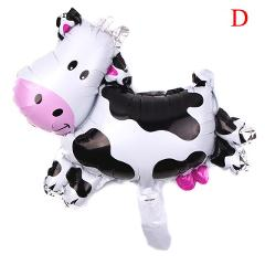 Cartoon Animal Cows pig horse lion Foil Balloons child Birthday Party Wedding Decoration baby shower Inflatable Toys balls