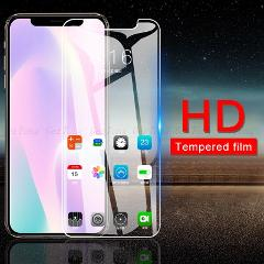 3 in 1 Full Body Tempered Glass On For iPhone Xs Max 11 Pro Max Xr X Screen Protector Camera Lens Film for iPhone 11 2019 Glass