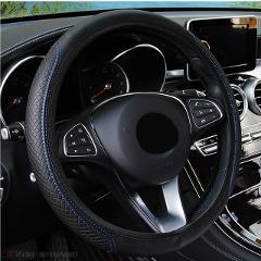 Steering Wheel Cover Braid On The Steering Wheel Cover Cubre Volante Auto Car Wheel Cover Car Accessories