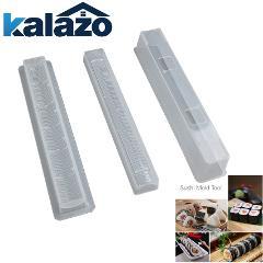 3PCs/ Set Japanese Roll Sushi Maker Rice Mold Kitchen Tools Sushi Maker Cozinha Bento Baking Sushi Maker Kit Rice Roll Mold