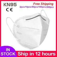 KN95 Face Mask mouth male female protective masks dust-proof Mouth Face Mask Anti-fog Breathable 5 Layers Face Masks Filtration