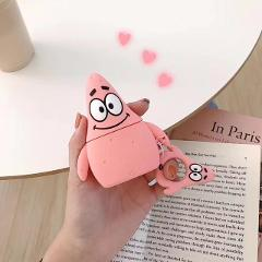 LOVERONY Cute Cartoon Bluetooth Earphone 3D Silicone Case For Apple AirPods 2 1Earpods Protective Cover Fundas Air pods Coque