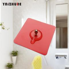 Bathroom Shelf Sticky Paper Powerful Suction Cup Non-marking Hook Waterproof Adhesive Wall Hanging nail-free Super Load Bearing