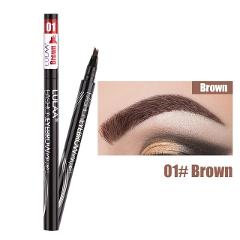 LULAA 4Color Liquid Eyebrow Enhancer Eyebrow Tattoo Pen Sketch Waterproof Eyebrow Pencil 4 Head Long-lasting Eye Makeup