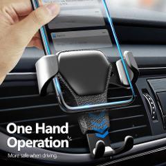 Car Air Outlet Gravity Mobile Phone Bracket for Audi A3 A4 A5 A6 VW Passat Skoda Octavia Renault Megane 2 3 Ford Focus