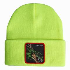 Dragon Ball Anime Shenlong Wool Cap Men Street Hip-Hop Knitted Peas Hat Women Winter Autumn Outdoor Riding Ski Warm Beanie Hats