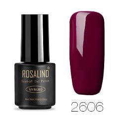 ROSALIND Hybrid Gel Nail Polish Semi Permanent Nail Art All For Manicure Set UV Nails Gel Polish Varnish gel lak Base Top Coat