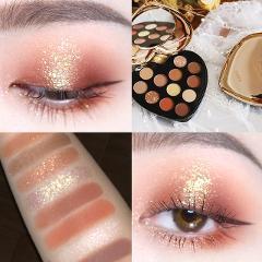 NOVO 12 Color Beauty Glazed Professional Soft Glam Matte Eyeshadow Glitter Eye Shadow Palette Long Lasting Makeup Eyeshadow