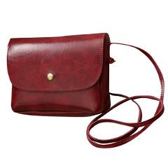 Fashion Simple Small Square Bag Women's Designer Handbag 2019 High-quality PU Leather Chain Mobile Phone Shoulder bags #L10