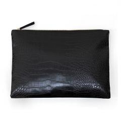 2019 New Fashion Crocodile Grain Women Envelope Clutch Bag Ladies Evening Party Large Clutches Handbag Alligator purses bolsas