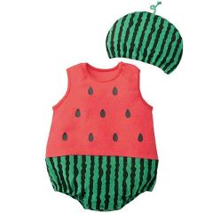 Cute Baby Clothes Cartoon Baby Boy Girl Rompers Cotton Animal And Fruit Pattern Infant Jumpsuit+Hat Set Newborn Baby Costumes j2