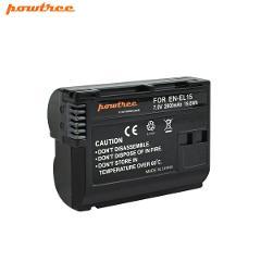 Powtree EN-EL15 Battery for Nikon D600 D610 D750 D7100 D7200 D800 D810 V1 MP