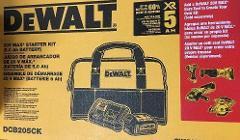 Dewalt Dcb205Ck 5 Amp Battery Bag And Charger Kit