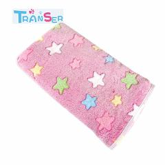 Transer Soft Flannel Pet Dog Blanket Dots Printed Breathable Cat Bed Mat Warm Pet Sleeping Cushion Cover For Pet Dog Cat Product