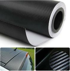 3D Carbon Fiber Car Stickers Decals Vinyl Film Autofor renault clio volvo v60 bmw e61 x3 e83 polo 6r mercedes w203 kia rio