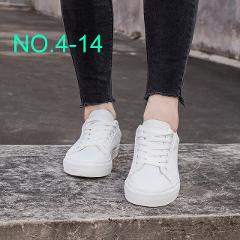 MFU22 New wild white shoes women's flat casual shoes students with white shoes 2019 spring NO.4-1-NO.4-18