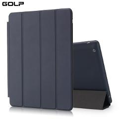 GOLP PU Leather Smart Case For iPad 2/3/4 Auto Sleep Full Protective Case PU Flip Stand Smart Cover Case for ipad 4 3 2