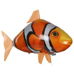 RC Air Swimming Fish & Shark Toys Drone Clown Fish Balloons Nemo Inflatable with Helium Plane Toy Party For Kids christmas Gift
