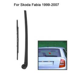 Car Rear Window Windshield Wiper Arm & Blade Complete Set for Skoda Fabia N3V2