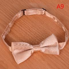 Bow tie for kids solid boys colour children tied bowtie new toddler neJB