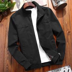 DIMUSI Autumn Mens Bomber Jackets Casual Male Outwear Military Windbreaker Jacket Mens Stand Collar Slim Baseball Coats Clothing