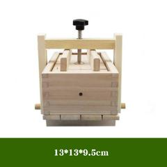 DIY Wooden Tofu Press Mould Set Homemade Cheese Tofu Mold Soybean Curd Tofu Making Mold Kitchen Accessories Cooking Tool