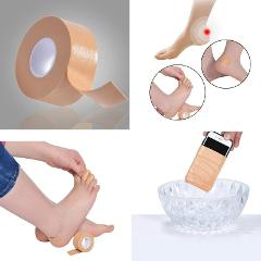 High Quality Foot Care Tool Muscle Foot Massage Pain Stress Relief Anti-wear Feet Heel Sticker Gel Health Care Product 1Roll