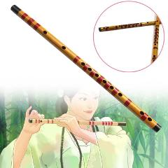 Beginner F Key Bamboo Flute Traditional Chinese Wind Instrument With Red String