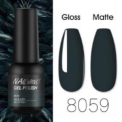 NAILWIND Gel Nail Polish 8ml Gel Semi Permanent Varnishes Hybrid Nails Gel For nail art UV LED Base Top Coat Nail Gel Polish