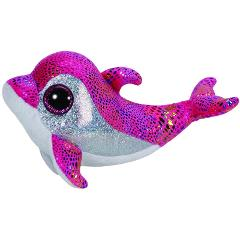 Ty Stuffed & Plush Sparkles the Pink Dolphin Toy 15cm