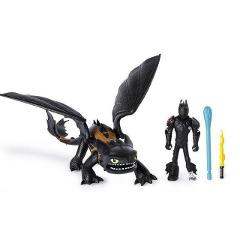 2019 How to Train Your Dragon 3 PVC Figure Toys Hiccup Toothless light fury Skull Gronckle Deadly Nadder Night Fury Dragon Doll
