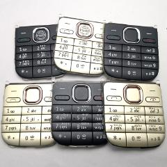 Main Menu English Or Hebrew Or Russian Keypad Keyboard Buttons Cover Case Housing For Nokia C2-01 c201