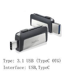Sandisk Pen drive USB Flash Drive 32GB 64GB 128GB OTG Type C USB 3.0 and 3.1 memory usb flash stick 16 32 64 128 256 gb pendrive
