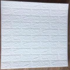 70*77 3D Brick Wall Stickers DIY Self  Decor Foam Waterproof Wall Covering Wallpaper For TV Background Kids Living Room
