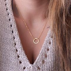 17KM Bohemian Gold Necklaces For Women Coin Heart Flower Star Choker Pendant Necklace 2019 Ethnic Multilayer Female Jewelry Gift