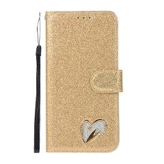 Glitter Bling Case For Samsung Galaxy S10 Plus Flip Leather Book Love Jewell Cover For Samsung S10E S 10 S10 Protective Case