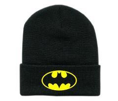 Keep warm Batman Deadpool Hat Model Batman Hip-hop cap Toys Cos Anime X-Men Decoration Gift Toys For Children