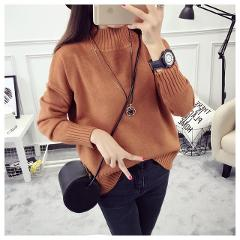 2019 Autumn Winter women sweater ladies long sleeve boat neck slim knitted pullovers top femme pull tight shirts jumper NS9101