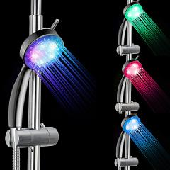 Colorful Shower Head Home Bathroom 7 Colors Changing LED Shower Water Glow Light