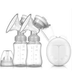 MMloveBB Bubee Single/Double Electric Breast Pump With Milk Extractor Bottle Infant USB BPA free Powerful Baby Breast Pumps Feed