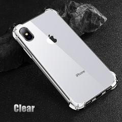 Shockproof 360 Degree Clear Protect Cover for iPhone x Case Soft TPU + Hard PC Plastic Cover For iPhone 6s 6 7 8 Plus xs xr Case