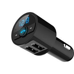 KORSEED 3.6A Quick USB Charger Bluetooth Car Kit FM Transmitter modulator Audio Music Mp3 Player Phone Wireless Handsfree Carkit