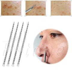 New Arrival  Stainless steel acne needle 1pcs 8cm blackhead comedone acne removable blemish pimple extractor tool
