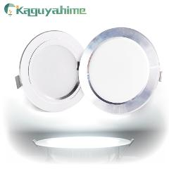 Kaguyahime LED Spotlight Downlight 220V 110V Aluminum 3W 5W 9W 15W 18W Ultra Thin Round Recessed LED Spot Light For Living Room
