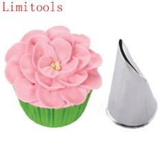 Stainless Steel Rose Flower Tips Cake Nozzle Cupcake Sugar Crafting Icing Piping Nozzles Molds Pastry Tool Dessert Decorators