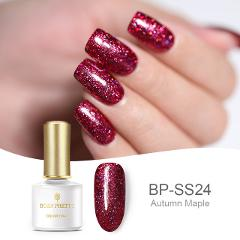 BORN PRETTY Platinum Nail Gel Polish 6ml Starry Sky Glitter Soak Off UV Gel Lacquer Shinging Bling Sequins Nail Art Varnish