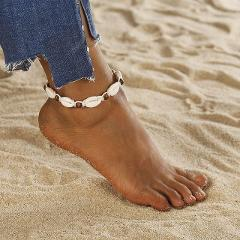 Simple shell Female Anklets Barefoot Crochet Sandals Leg New Anklets On Foot Ankle Bracelets For Women Leg Chain   Jewelry