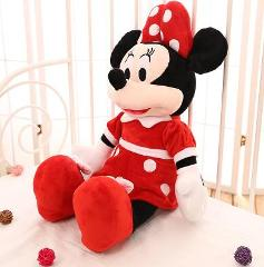 2019 Hot Sale 20cm High Quality Stuffed Mickey&Minnie Mouse Plush Toy Dolls Birthday Wedding Gifts For Kids Baby Children
