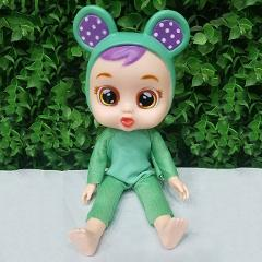 Crying LOL surprise doll babies Action Figures reborn flexible joints play house Hobbies dressed up birthday gift for children
